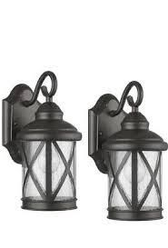 Allen And Roth Castine Wall lanterns 2ct  1479176