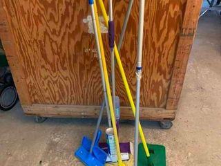 Assortment of floor cleaners