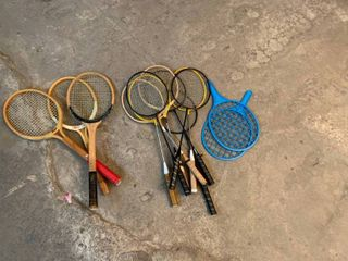 Variety of rackets