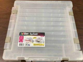 Art supplies bin