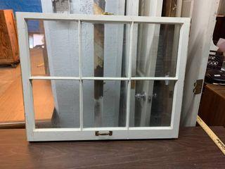Vintage 6 pane window
