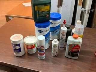 Variety of tiling supplies