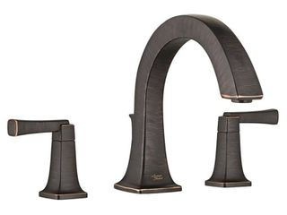 American Standard Townsend 2 Handle Deck Mount Roman Tub Faucet for Flash Rough in Valves in legacy Bronze