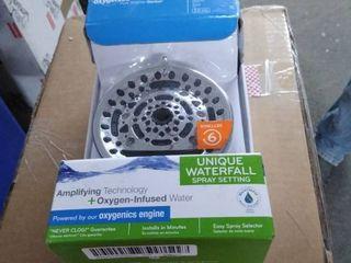 Oxygenics Powermax Chrome 9 spray Shower Head