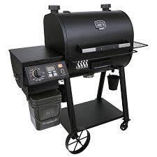 oklahoma joe s smoker with burner black