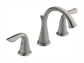 Delta Faucet 3538 SSMPU DST lahara Two Handle Widespread lavatory Faucet  Stainless