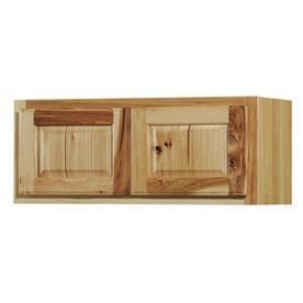 Kitchen Classics Denver 30 in W x 12 in H x 12 in D Finished Hickory Hickory Double Door Kitchen Wall Cabinet
