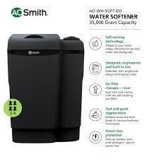 ao smith water softener 35000 grain capacity