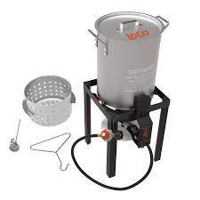 loco Cookers   1 Burner Propane 20lb  Cylinder Turkey Fryer lt5 24