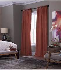 allen roth blackout panels 40x63 inch burgundy