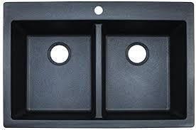 franke composite granite double bowl kitchen sink graphite mocha broken