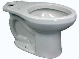 American Standard 3706 216 020 H2Option Siphonic Dual Flush Elongated Toilet Bowl  White  Bowl Only