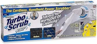 Turbo Scrub 360 Cordless Power Scrubber