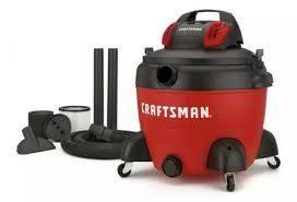 Craftsman 16 Gallon 5 Hp Portable Wet Dry Shop Vacuum Model Cmxevbcpc1650 used dirty