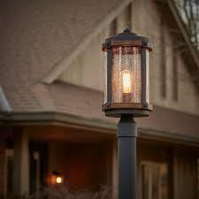 kichler barrington outdoor post lantern