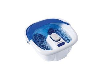 Bubble Bliss Elite Footbath with Amope Coconut Oil Pedimasks plus Dr  Teals Foot Spa Soaking Solution