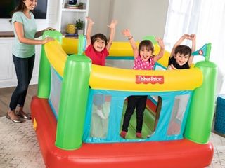 Fisher Price Bouncesational Bounce House with Built in Pump