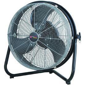 Utilitech Pro 18 in 3 Speed Oscillation High Velocity Fan