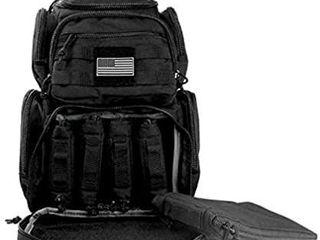 K Cliffs Shooting Range Pistol Backpack   Up to 5 Handguns   Dedicated Mag Storage