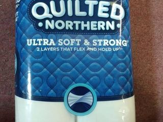 Quilted Northern Ultra Soft   Strong Toilet Paper  8 Supreme rolls   33 regular rolls