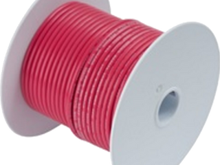 Ancor 113510 Marine Grade Electrical Tinned Copper Battery Cable  4 Gauge  Red  100 Feet