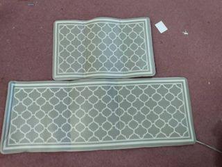 Anti fatigue mat set