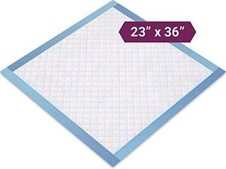 Disposable Underpad  23 X 36 inch  2 packs  1  50 each 1  10 each  60 total