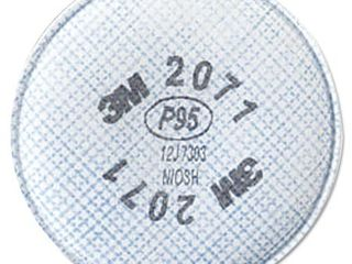 3M Particulate Filter 2071 Pack of 1  2 filters