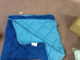 Visco Soft throw   comforter  size 68 x86  blue