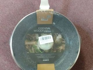 Essential woody collection deep fry pan 12 5
