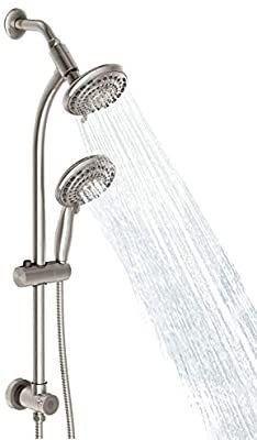 Egretshower Handheld Showerhead   Rain Shower Combo Spa for Easy Reach