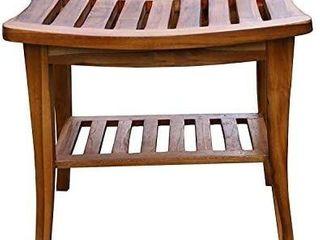Ala Teak Indoor Outdoor Stool Bench