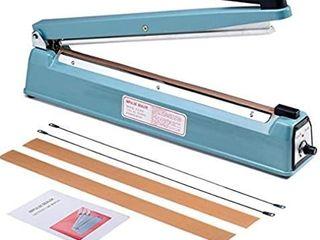 Metronic 16inch 400mm Manual Impulse Manual Hand Sealer
