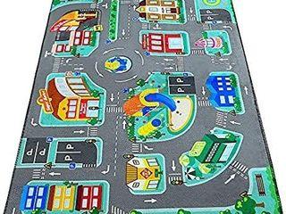 Kids Carpet Playmat Rug  City life
