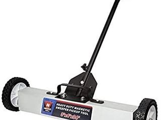 Neiko 53418A Heavy Duty 36 Inch Magnetic Sweeper Metal Pickup Tool with Quick Release Adjustable Height