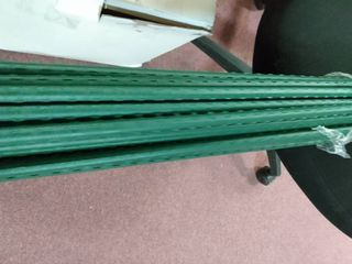 Tingyuan 25 Pack Garden Stakes 11mm X 120cm Plant Stakes Sturdy Plant Support