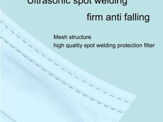 Disposable Face Masks Anti Dust Masks Pack of 50