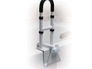 Drive Medical Adjustable Height Bathtub Grab Bar Safety Rail