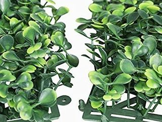 YAHEETECH 20 x 20 inch Artificial Boxwood Panels Hedge