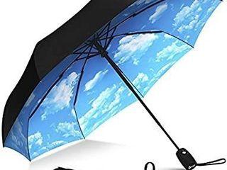 Zomane Windproof Travel Umbrella
