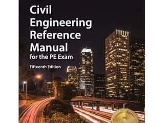 Civil Engineering Reference Manual for PE Exam  Used   Hardcover