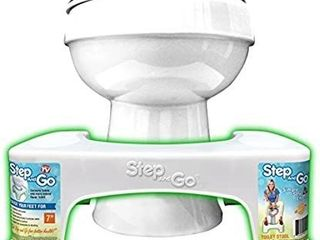 Step and Go Toilet Stool 7a New