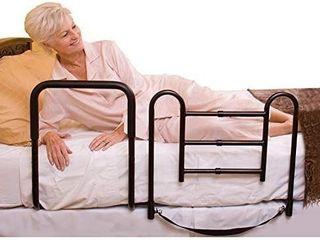 Carex Health Brands Easy Up Bed Rails for Elderly   Adult Bed Hand Rails