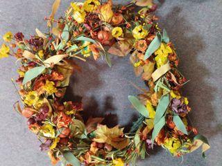 Handmade Fall Wreath
