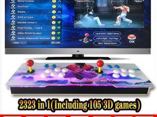 3D Pandoraas Key Box RRTV 12S Arcade Video Game Console Gamepad 2323 Games In 1