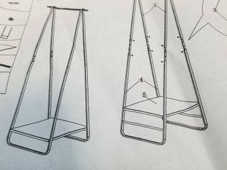 A Frame Coat Rack