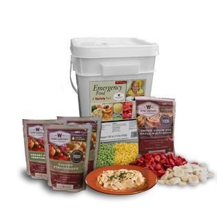 Wise Company Emergency Food Variety Pack  104 servings