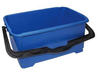 Unger DB02C 6 Gallon Heavy Duty Rectangular Window Cleaning Bucket