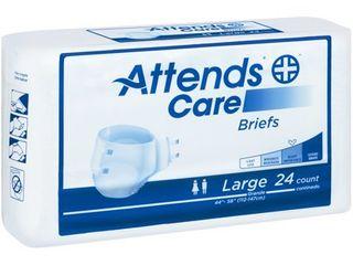 BRHC30 AttendsAr Care Heavy large Briefs 24 ct Bag