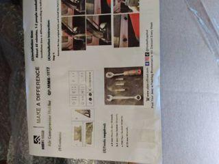 Hooke Road Air Compressor Holder Mount Bracket for 2018 2019 Jeep Wrangler Jl Unlimited 4 Door